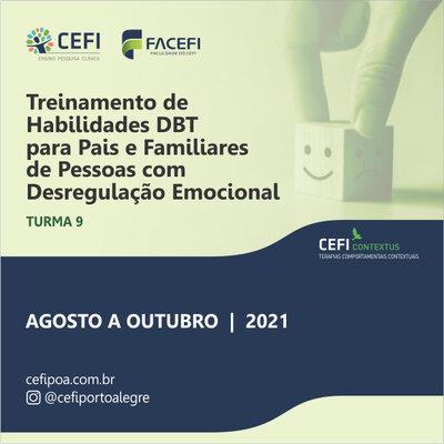 Treinamento de Habilidades da Terapia Comportamental Dialética (DBT) para Pais e Familiares de Pessoas com Desregulação Emocional
