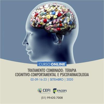TCC EN LÍNEA: TRATAMIENTO COMBINADO: TERAPIA COGNITIVO-COMPORTAMIENTO Y PSICOFARMACOLOGÍA