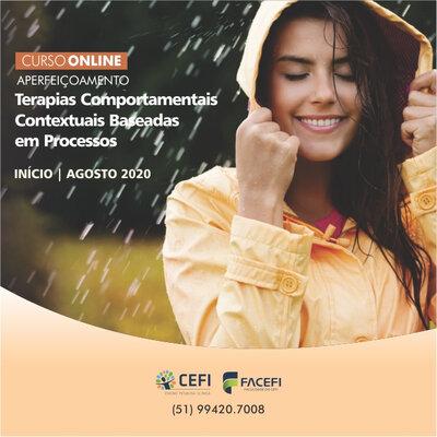 Curso de Aperfeiçoamento: TERAPIAS COMPORTAMENTAIS CONTEXTUAIS BASEADAS EM PROCESSOS