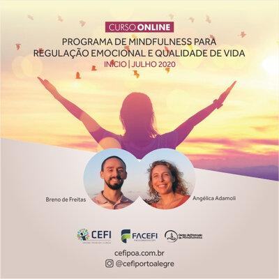 Programa de Mindfulness ONLINE para Regulação Emocional e Qualidade de Vida
