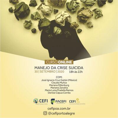 Núcleo VIDA/CEFI:Manejo da crise suicida