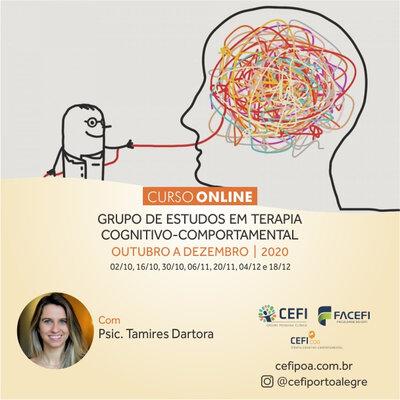 GRUPO DE ESTUDOS EM TERAPIA COGNITIVO-COMPORTAMENTAL ONLINE