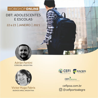 Workshop Online DBT: Adolescentes e Escolas
