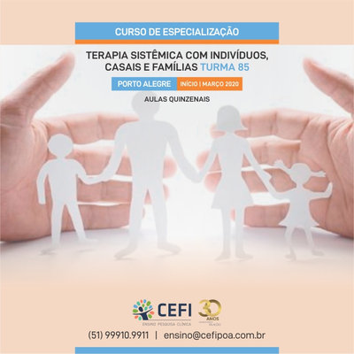 Specialization Course in Individual, Marital and Family Systemic Therapy - Class 85