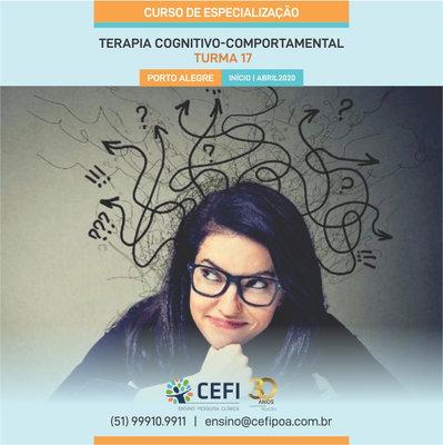 Curso de Especialização em Terapia Cognitivo-Comportamental