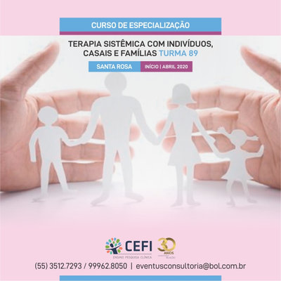 SPECIALIZATION COURSE IN INDIVIDUAL, CONJUGAL AND FAMILY SYSTEMIC THERAPY