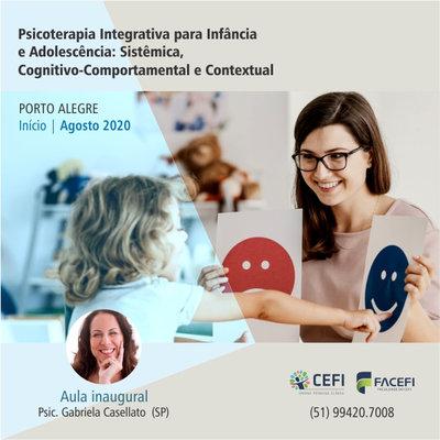 Psicoterapia Integrativa para Infância e Adolescência: Sistêmica, Cognitivo-Comportamental e Contextual